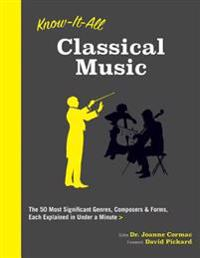 Know It All Classical Music: The 50 Most Significant Genres, Composers & Forms, Each Explained in Under a Minute