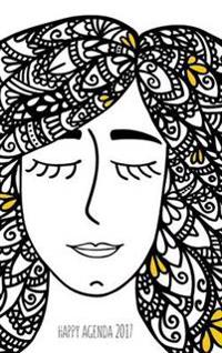 Happy Agenda 2017: Zentangle Girl