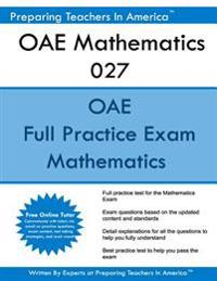 Oae Mathematics 027: Oae Math Study Guide