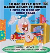 Ik Hou Ervan Mijn Kamer Netjes Te Houden - I Love to Keep My Room Clean