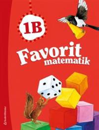 Favorit matematik 1B - Elevpaket (Bok + digital produkt)