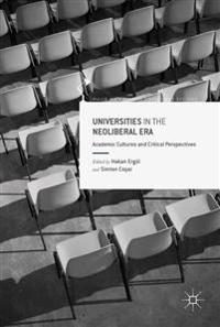 Universities in the Neoliberal Era