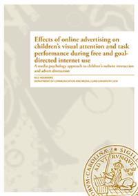 Effects of online advertising on children's visual attention and task performance during free and goaldirected internet use