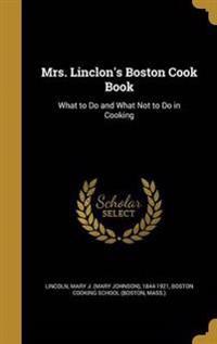 MRS LINCLONS BOSTON COOK BK