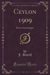 Ceylon 1909