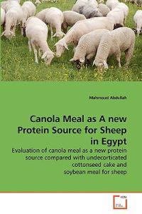 Canola Meal as a New Protein Source for Sheep in Egypt