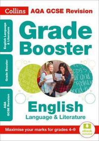 Aqa gcse english language and english literature grade booster for grades 4