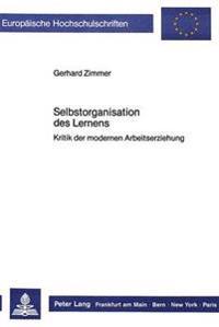 Selbstorganisation Des Lernens: Kritik Der Modernen Arbeitserziehung