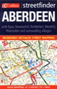Aberdeen Streetfinder Colour Map