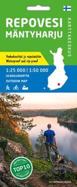 Repovesi Mäntyharju ulkoilukartta 1:25 000 / 1:50 000
