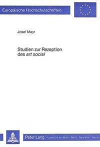 Studien Zur Rezeption Des -Art Social-: Die Sozialromane George Sands in Der Zeitgenoessischen Kritik