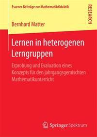 Lernen in Heterogenen Lerngruppen