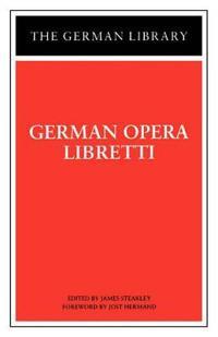 German Opera Libretti