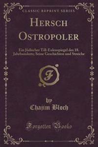 Hersch Ostropoler