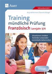 Training mündliche Prüfung Französisch Lj. 3-4