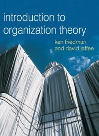 Organizational theory: tension and change