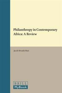 Philanthropy in Contemporary Africa: A Review