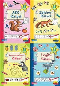 Pixi kreativ Serie Nr. 22: Lernspiele für den Schulanfang (7x4 Exemplare)