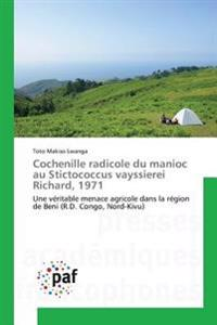 Cochenille radicole du manioc au Stictococcus vayssierei Richard, 1971