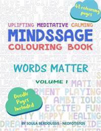 Mindssage Colouring Book: Words Matter