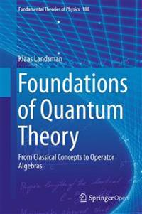 Foundations of Quantum Theory: From Classical Concepts to Operator Algebras