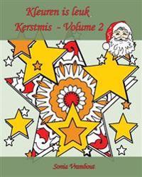 Kleuren Is Leuk - Kerstmis - Volume 2: 25 Kleurplaten Om Kerstmis Te Vieren!
