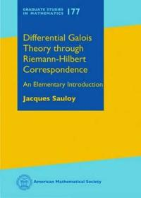 Differential Galois Theory Through Riemann-Hilbert Correspondence