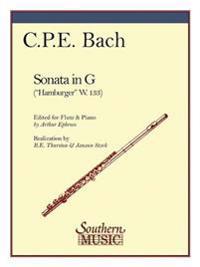 Sonata in G (Hamburg): Flute