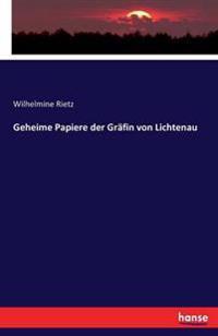 Geheime Papiere Der Grafin Von Lichtenau