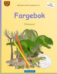 BROCKHAUSEN Fargebok Vol. 3 - Fargebok: Dinosaur - Dortje Golldack   Inprintwriters.org