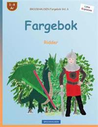 Brockhausen Fargebok Vol. 6 - Fargebok: Ridder