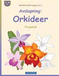 Brockhausen Fargebok Vol. 1 - Avslapning: Orkideer: Fargebok