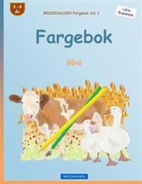 Brockhausen Fargebok Vol. 1 - Fargebok: Gård