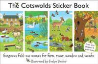 Cotswolds sticker book - the wildlife of meadow, farm, river and woods in g