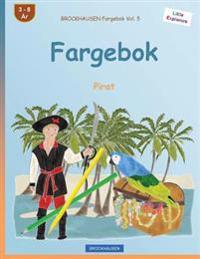 Brockhausen Fargebok Vol. 5 - Fargebok: Pirat