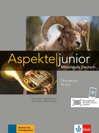 Aspekte junior B1 plus. Übungsbuch mit Audio-Dateien zum Download