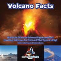 Volcano Facts -- What Is the Difference Between Magma and Lava? How Many Volcanoes Are There and What Types Are They? - Children's Earthquake & Volcan