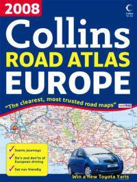 2008 Collins Road Atlas Europe