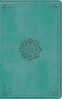 ESV Value Thinline Bible (Trutone, Turquoise, Emblem Design)