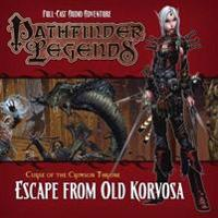 Pathfinder legends: the crimson throne - 3.3 escape from old korvosa