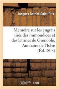 M�moire Sur Les Engrais Tir�s Des Immondices Et Des Latrines de Grenoble Ins�r�