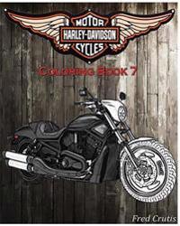 Motor: Harley-Davidson Coloring Book 7: Coloring Book