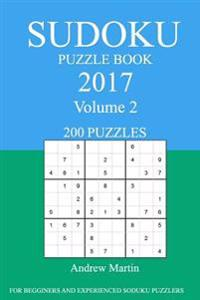 Sudoku Puzzle Book: 2017 Edition - Volume 2