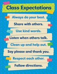 Tape It Up!: Class Expectations Chart