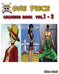 One Piece: Coloring Book: Vol.1 - 3: Coloring Book
