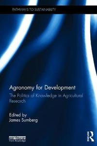 Agronomy for Development
