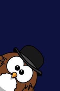 Peek a Derby Owl: Cute Bird Lover Writing Journal Lined, Diary, Notebook for Men & Women