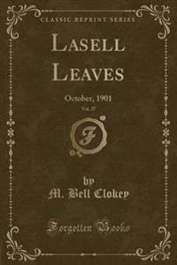 Lasell Leaves, Vol. 27