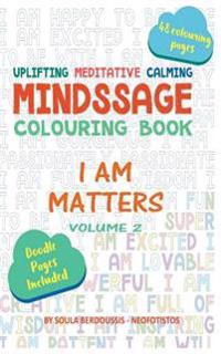 Mindssage Colouring Book Travel Size: I Am Matters