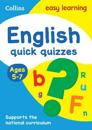 English Quick Quizzes: Ages 5-7